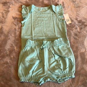Bodysuit and shorts set